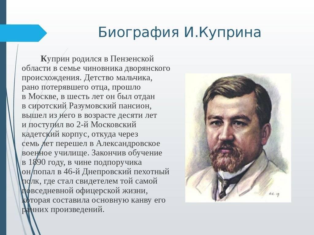 Куприн, александр иванович   русская литература вики   fandom