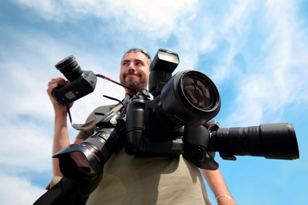 Оформляем биографию фотографа