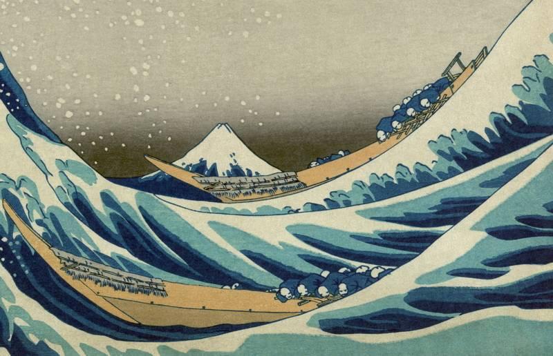 Кацусика хокусай. тайны и неожиданные открытия «большой волны в канагаве»