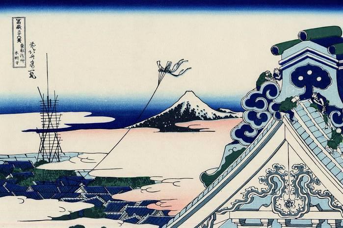 Кацусика хокусай — японский художник, иллюстратор и гравер