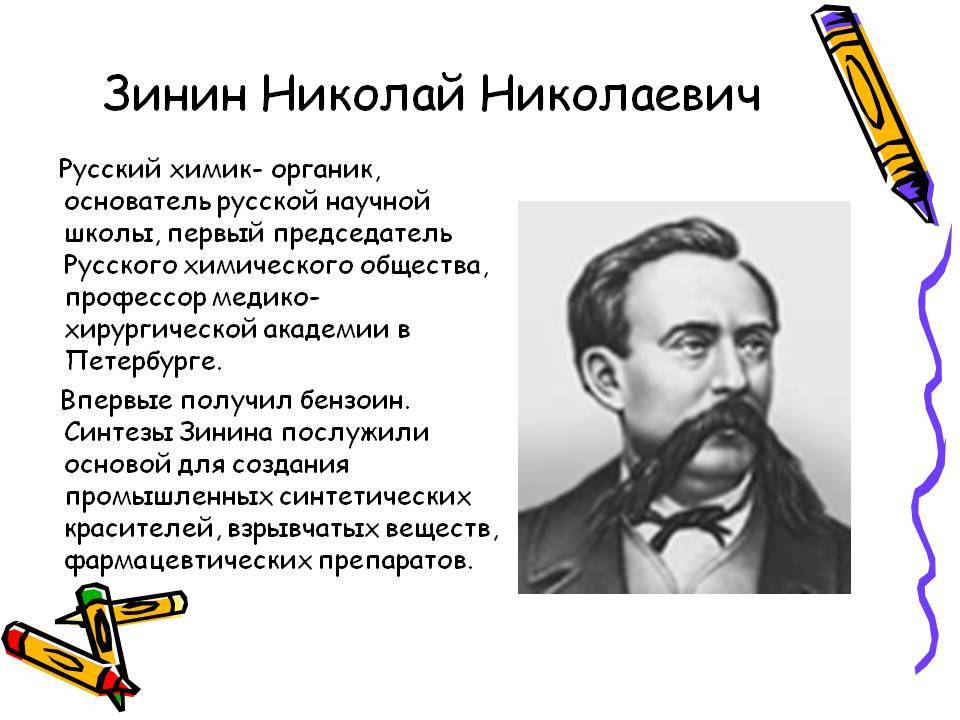 Зинин, николай николаевич — википедия