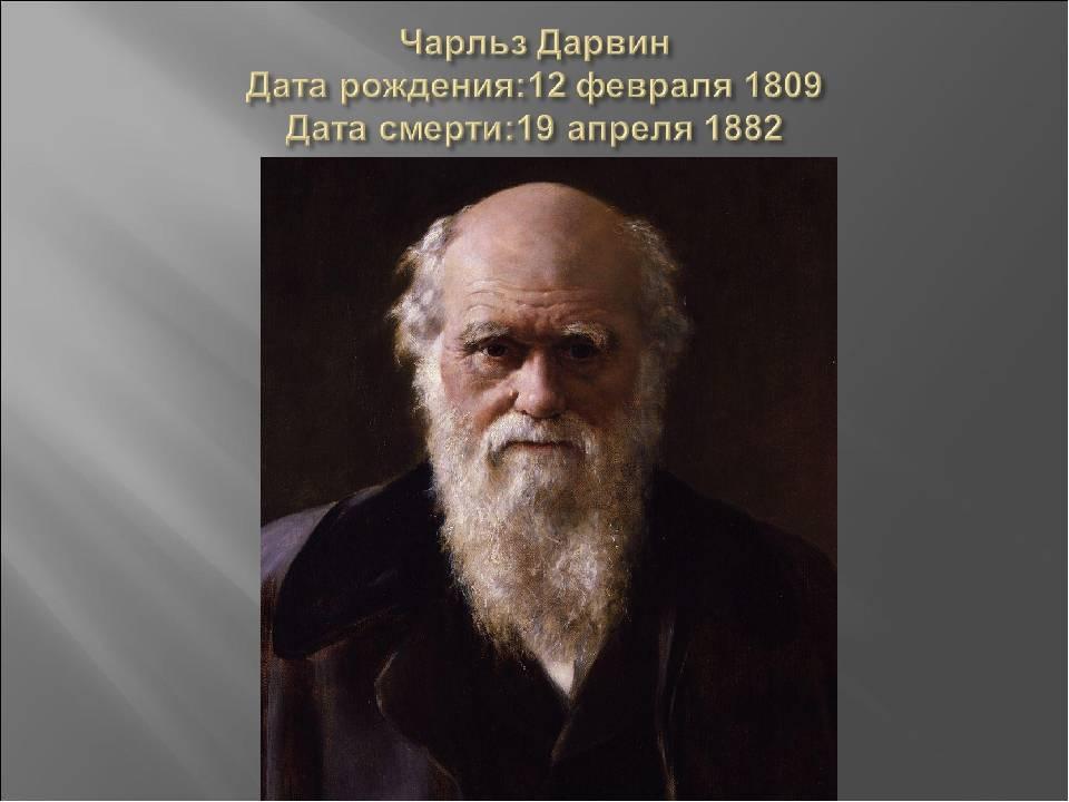 Чарльз дарвин — биография автора теории эволюции