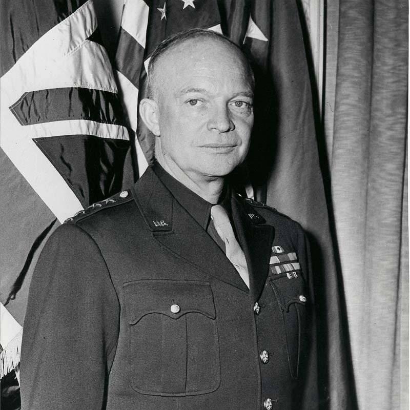 Дуайт эйзенхауэр — биография, политика