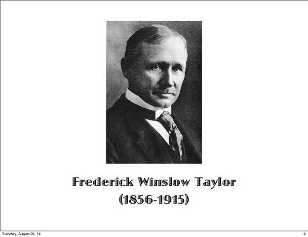 Фредерик тейлор биография, теория и вклады