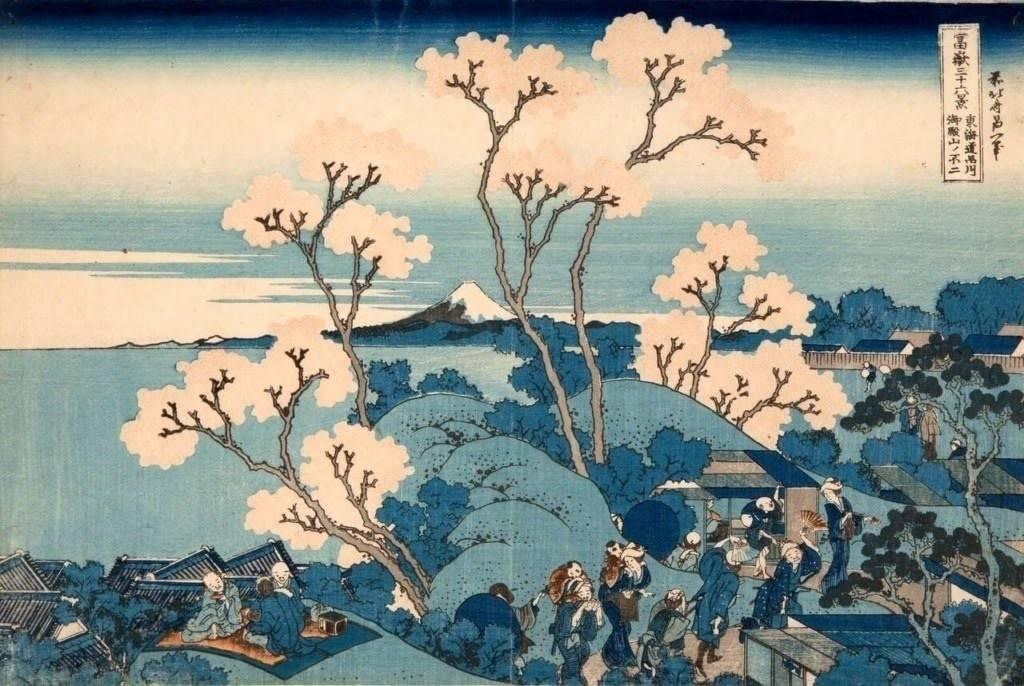 36 видов фудзи кацусика хокусай. надежда ионина. 100 великих картин. книги по истории онлайн. электронная библиотека