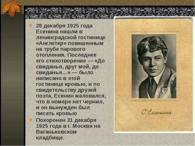 Есенин, сергей александрович | русская литература вики | fandom