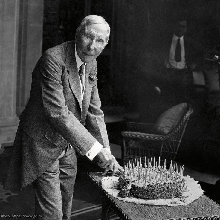 Джон дэвисон рокфеллер — биография первого миллиардера