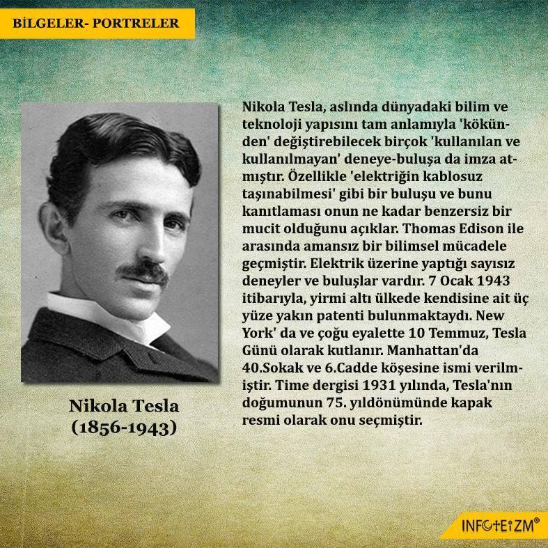 Никола тесла: биография, высказывания николы теслы