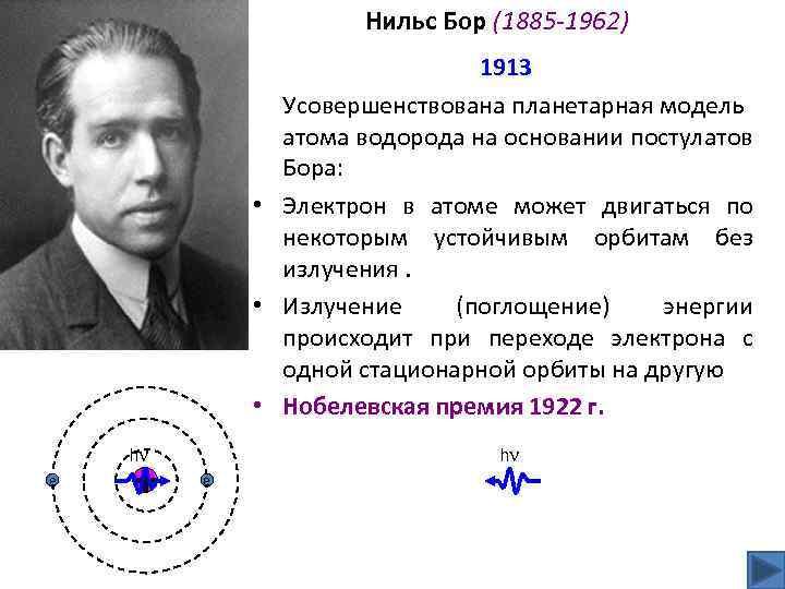 Нильс бор — биография физика