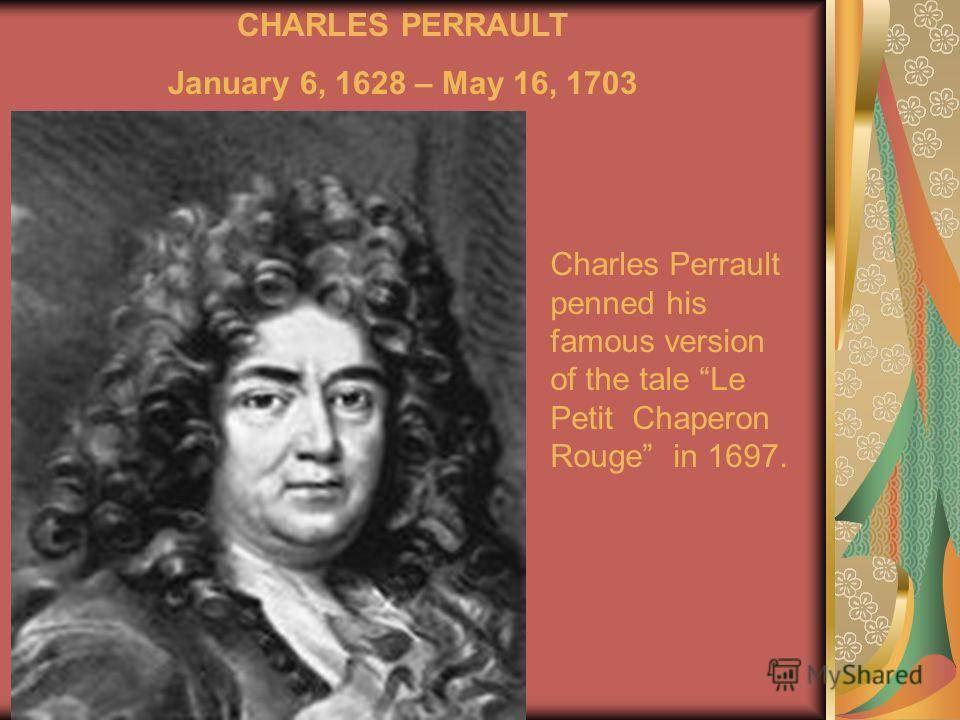 Шарль перро: биография, любопытные факты, видео