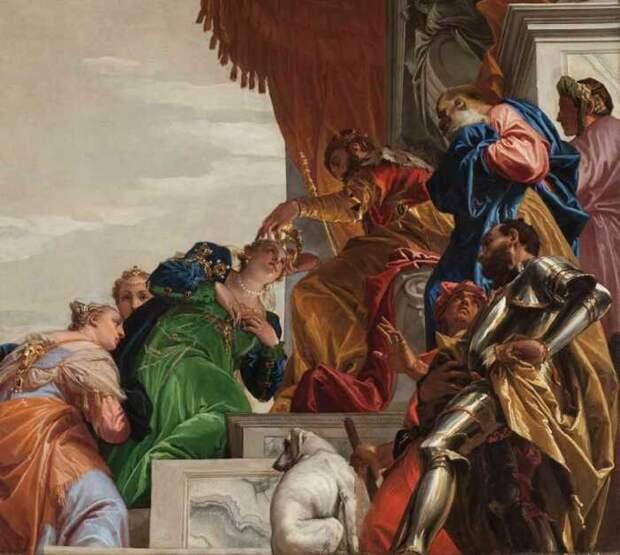 Паоло веронезе: картины и их описания