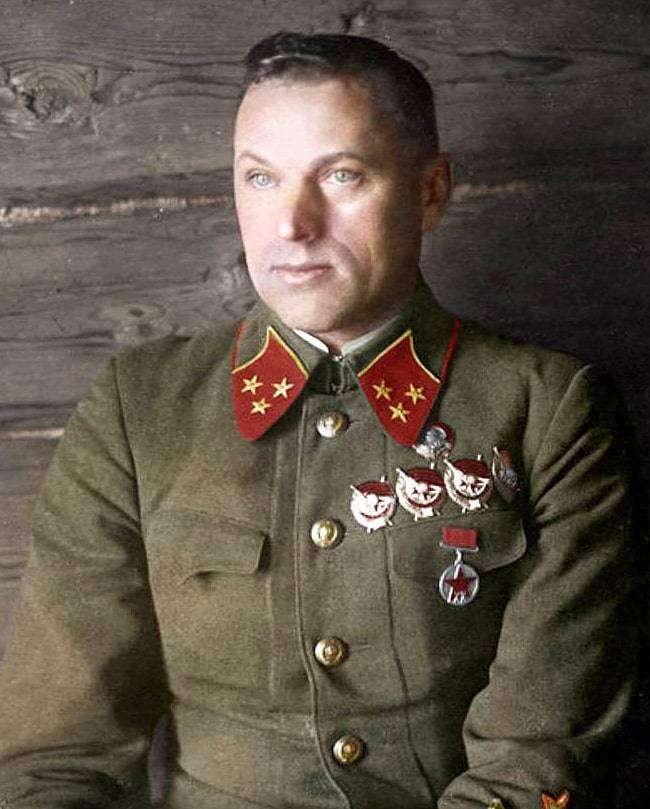 Маршал рокоссовский - биография, факты, фото