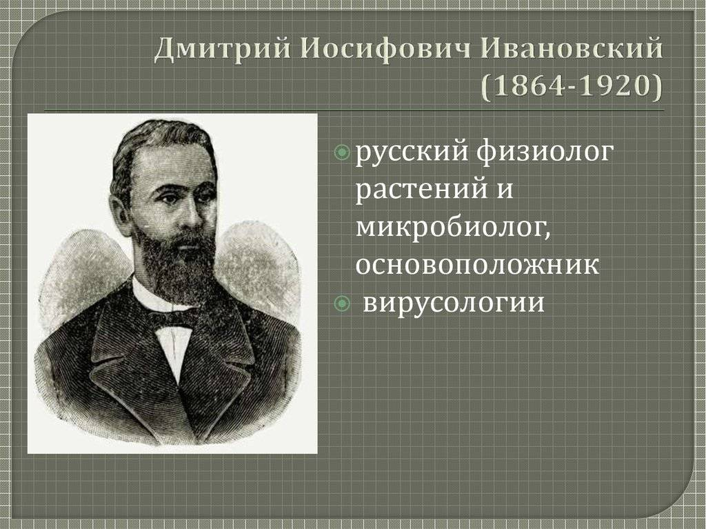 Ивановский, дмитрий иосифович - вики