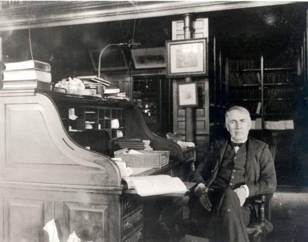 Томас алва эдисон — изобретатель фонографа