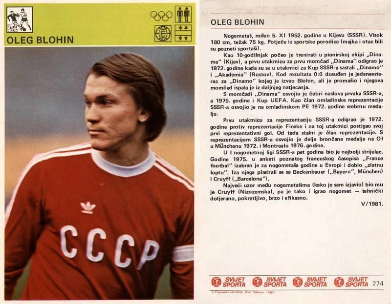 Блохин олег владимирович - фото, видео биография тренера.