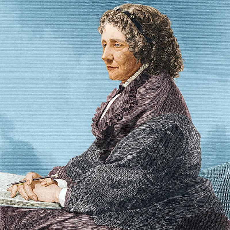 Противница рабства гарриет элизабет бичер-стоу (harriet elizabeth beecher stowe) (14 июня 1811, личфилд — 1 июля 1896, андовер)