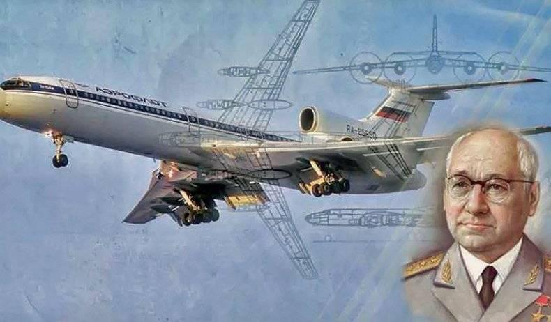 Боевые и мирные самолеты «туполева»