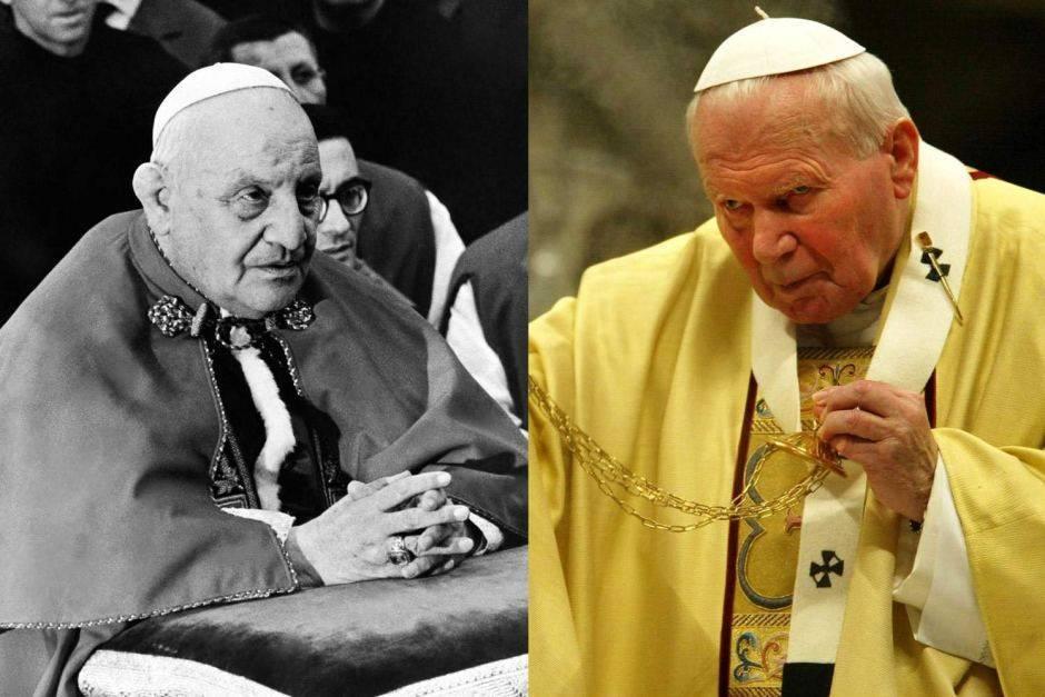 Канонизация римских пап иоанна павла ii и иоанна xxiii