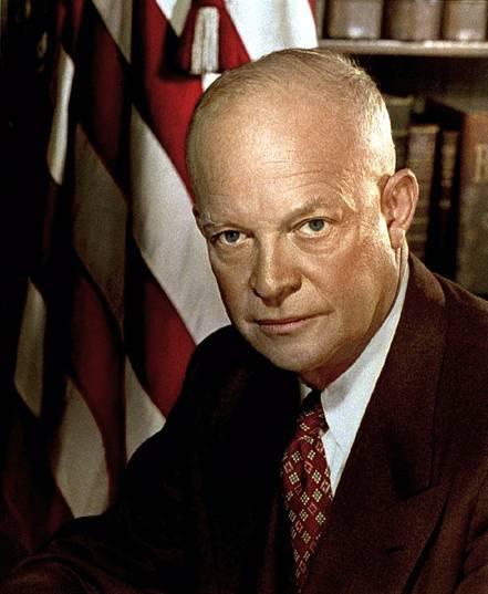 Дуайт эйзенхауэр — биография, политика   исторический документ