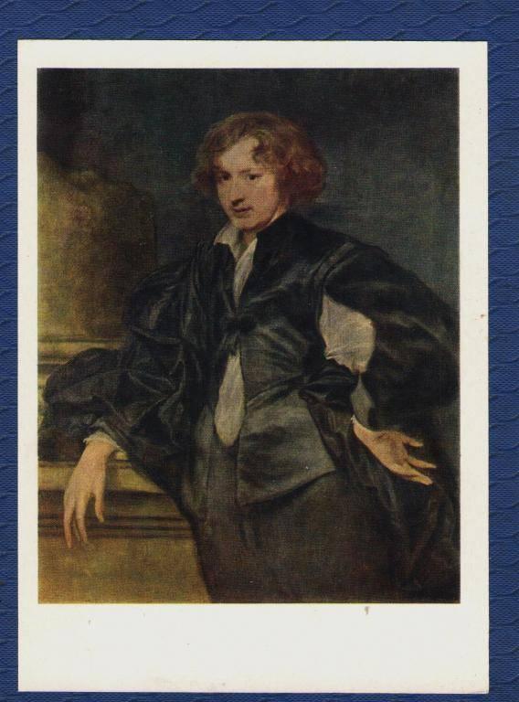 Антонис ван дейк. гениальный и честолюбивый портретист