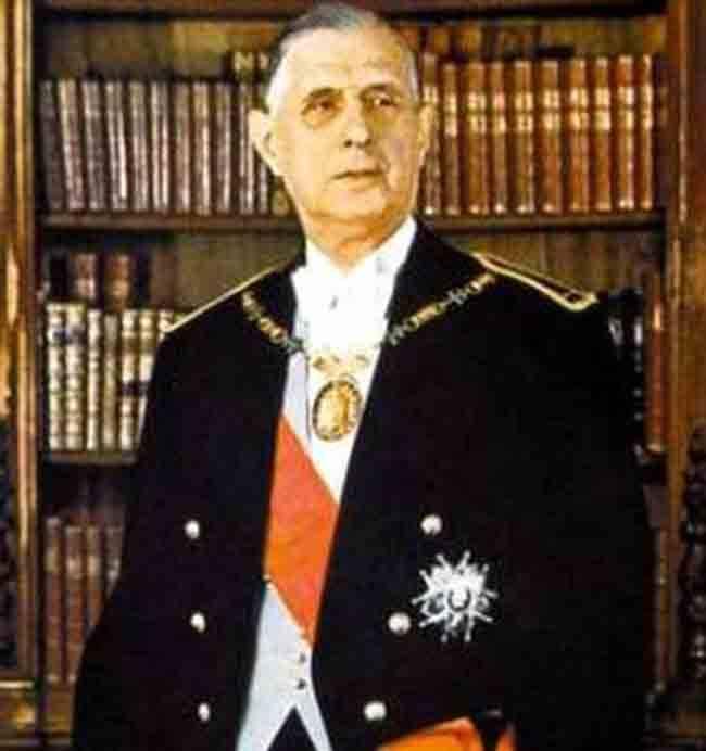 Шарль де голль. его величество президент.