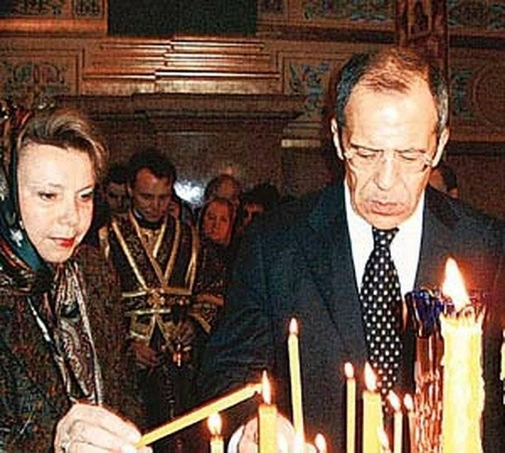 Сергей лавров: биография, семья и образование