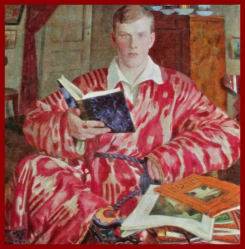 Б м кустодиев картины, биография художника, творческий путь