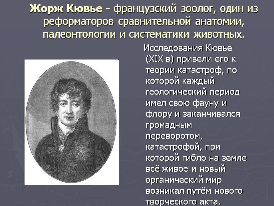 Кювье, жорж - вики