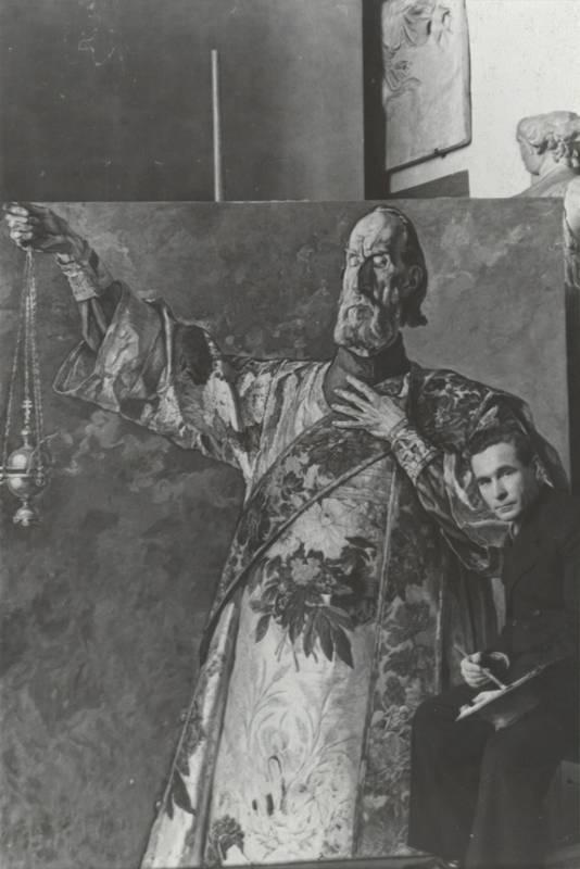 Павел корин: «русь уходящая», мозаики метро и фрески для елизаветы федоровны