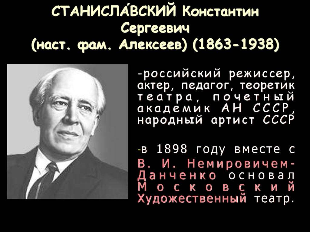 Константин станиславский - биография, личная жизнь, фото и последние новости - 24сми