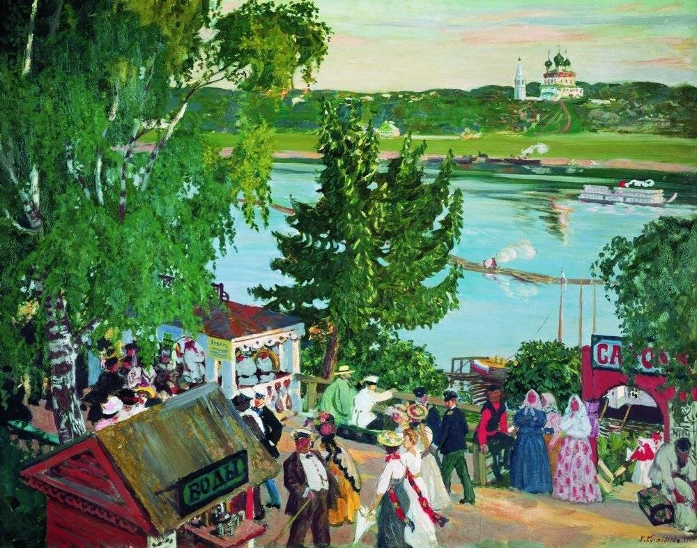 Борис кустодиев – живописец образов руси