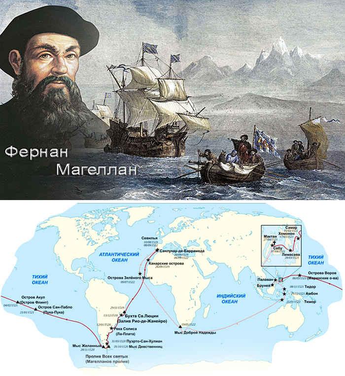 Фернан магеллан — первое кругосветное путешествие и великие географические открытия, жизнь и биография мореплавателя: сообщение