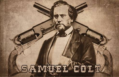 История настоящего револьвера сэмюеля кольта