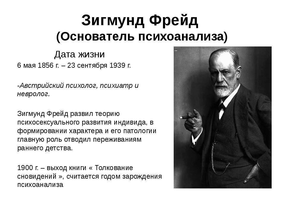 Кто такой зигмунд фрейд? биография австрийского психоаналитика