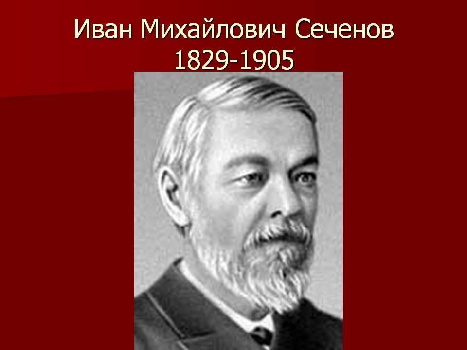 Сеченов иван михайлович: интересные факты из жизни и биографии   vivareit