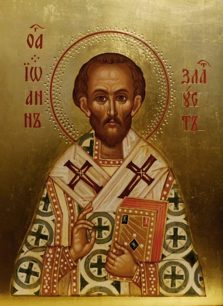 Святой иоанн златоуст — обличитель