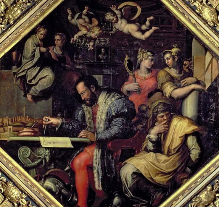 Биография художника и архитектора джорджо вазари: жизнеописания знаменитых живописцев