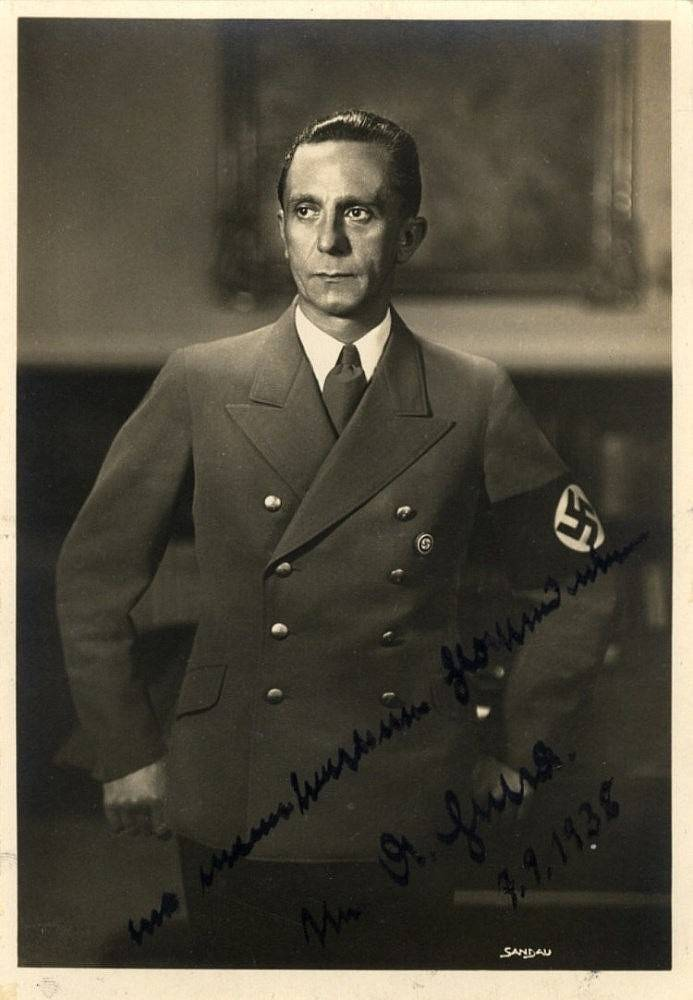 Йозеф геббельс - биография, факты, фото