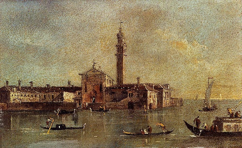 Франческо гварди (1712–1793). мастера исторической живописи