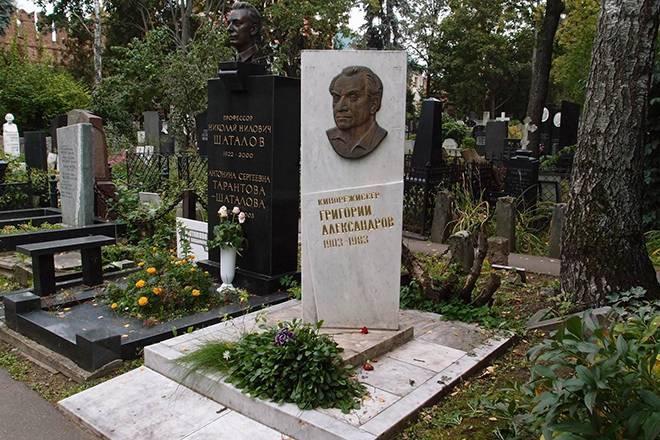 Александров, григорий васильевич (генерал)