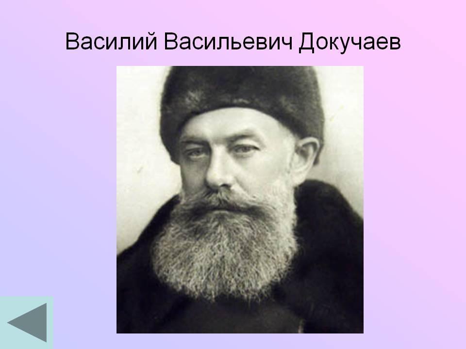 Василий васильевич докучаев: биография