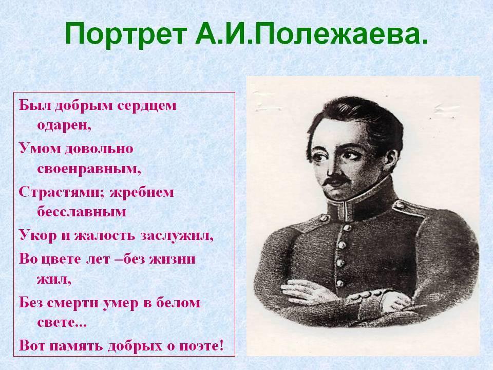 Биография Александра Полежаева