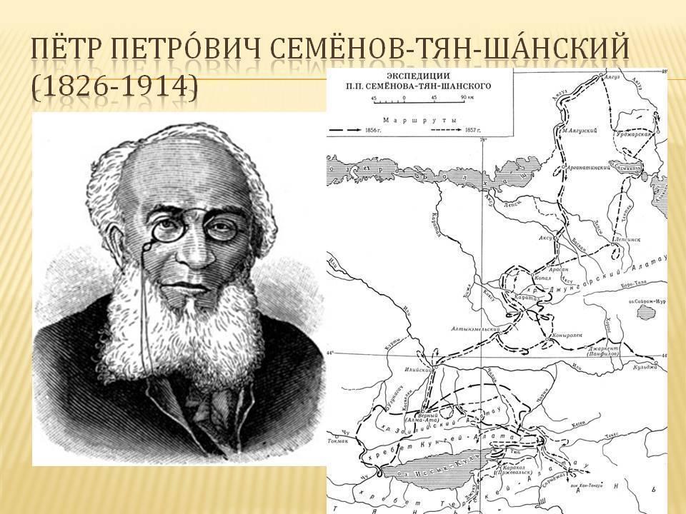 Петр семенов-тян-шанский: географ, который посвятил жизнь благотворительности | милосердие.ru