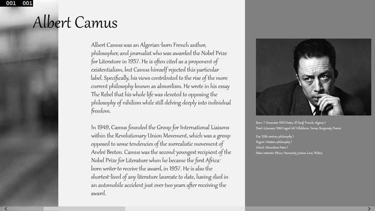 Альбер камю - биография, информация, личная жизнь