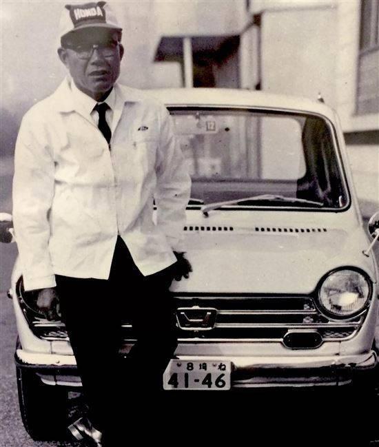 Хонда, соитиро — википедия