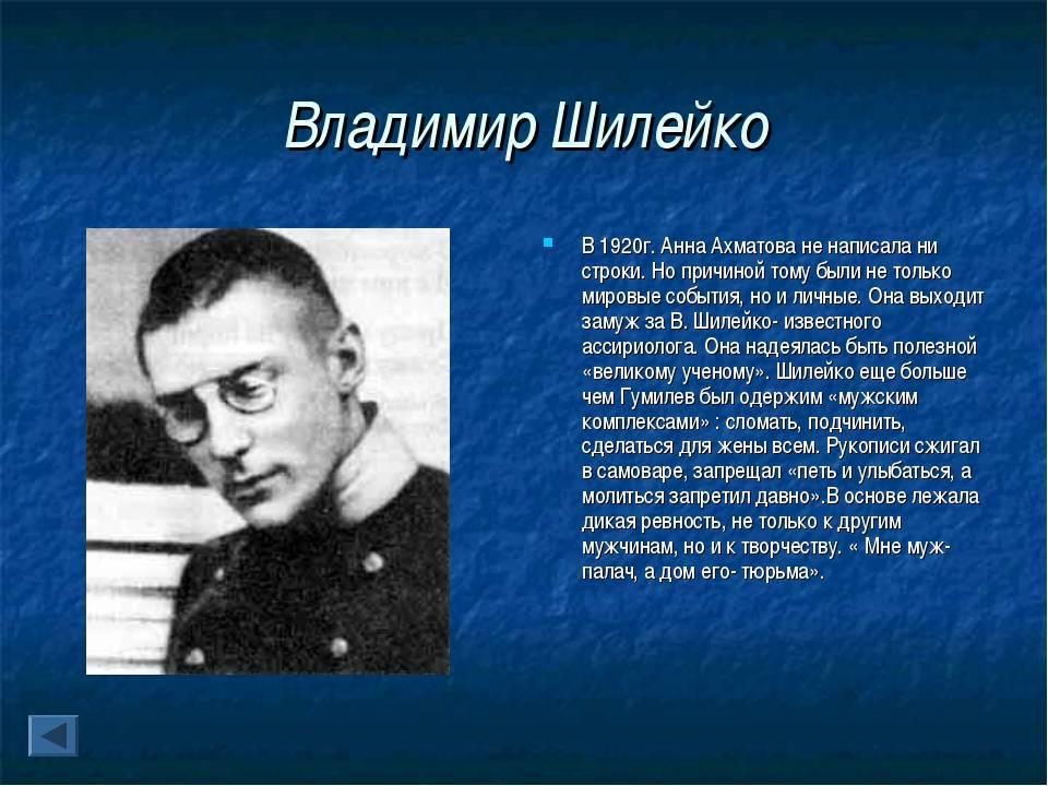 Владимир шилейко | наука | fandom