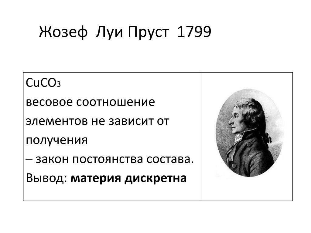 Пруст, жозеф луи — википедия