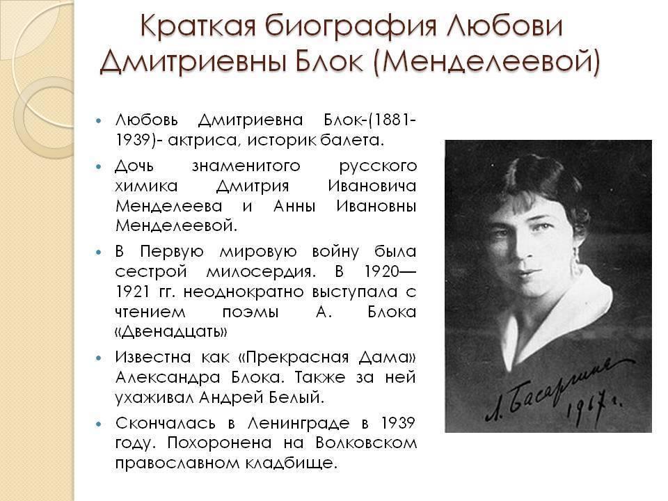Александр блок: стихи