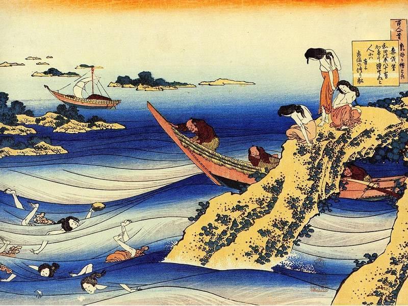 Кацусика хокусай - старик, помешанный на искусстве