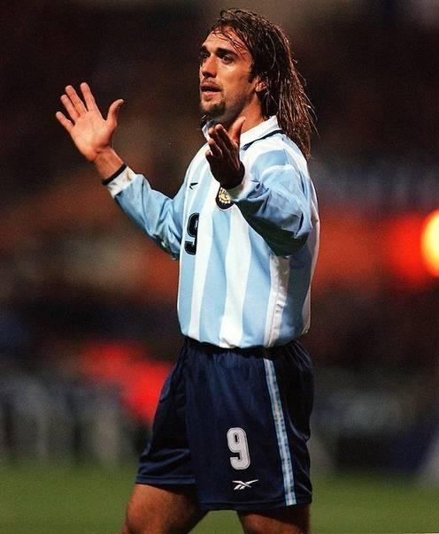 Габриэль батистута - фото, видео биография известного футболиста